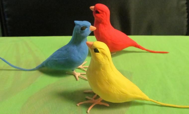 Как сделать птичку маленькую своими руками
