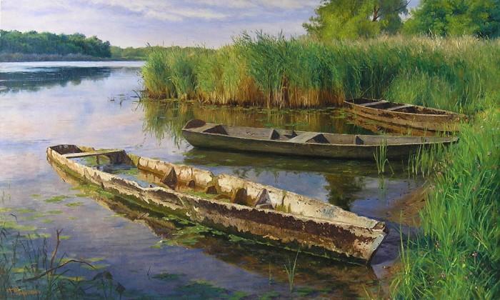 пейзажи художник Кириченко Геннадий-13