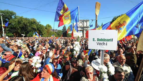 """Мэр Кишинева увидел в протестах оппозиции """"руку Кремля"""""""