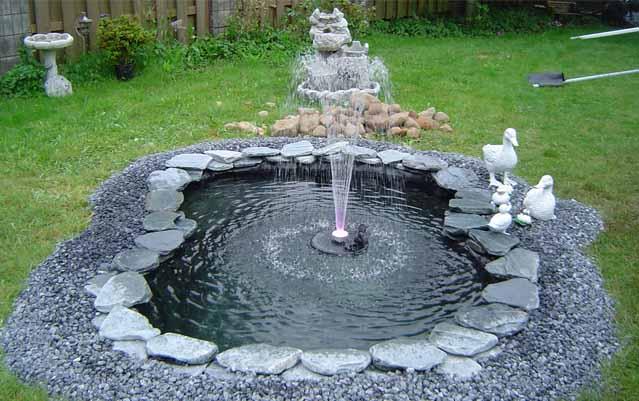 Фото фонтан на даче своими руками фото пошаговая инструкция