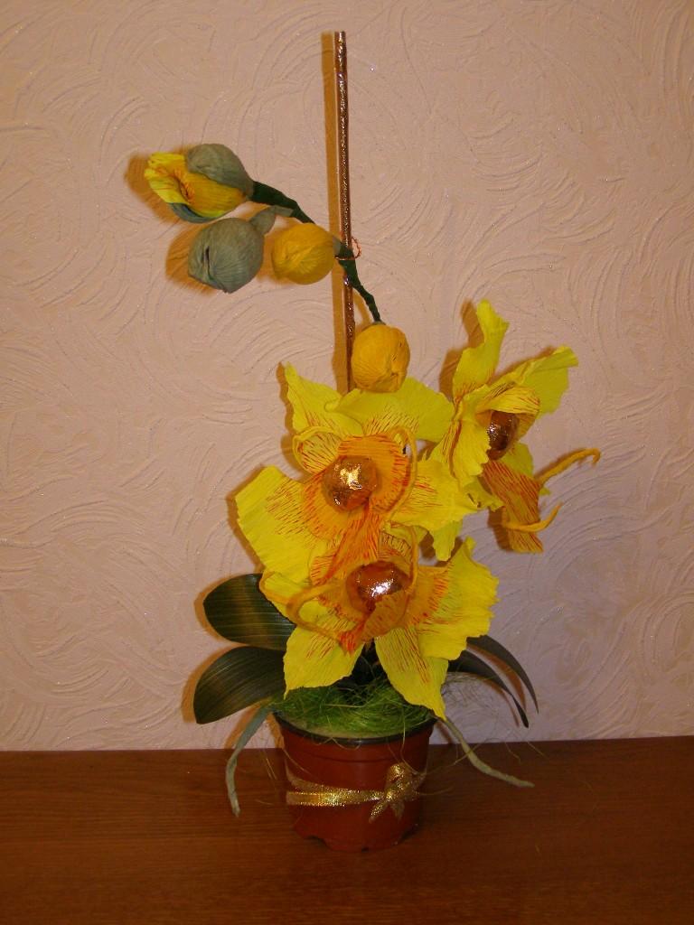 Букет из орхидей: как самостоятельно составить цветочную 11