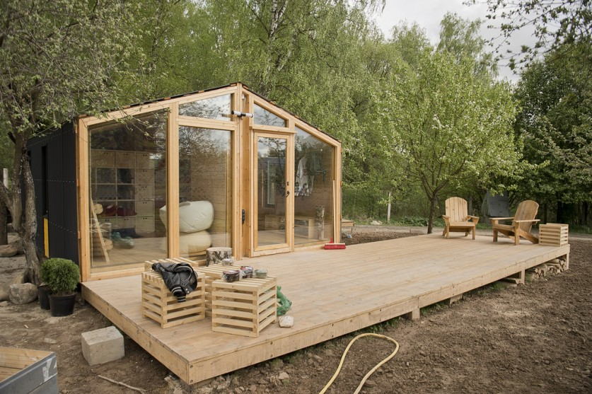 Отличная идея для дачного домика