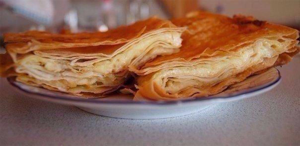 Сырный пирог из армянского лаваша