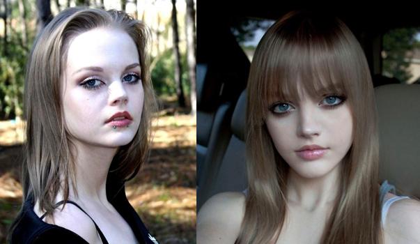 Estilo Barbie Girls - bonecas que ali vivem (foto) antes e depois