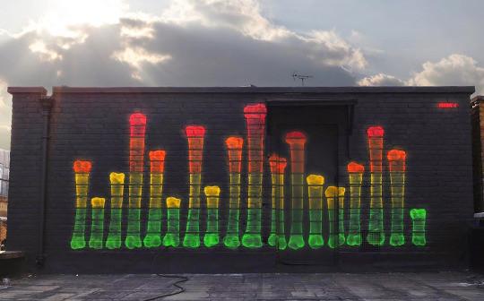 13. Лондон, Великобритания граффити, стрит-арт, художники