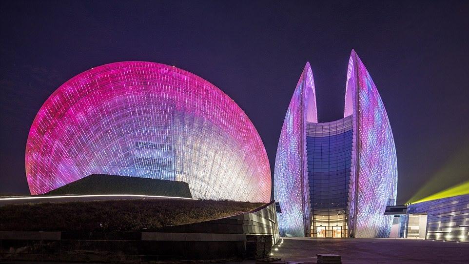 Оперный театр в Чжухае, Гуандун, Китай