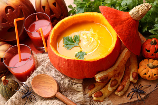 13 ярких блюд из тыквы