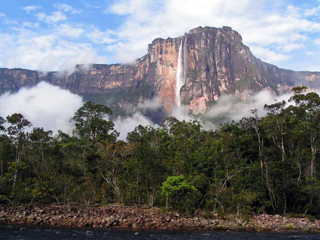 Любопытно о самом высоком водопаде мира