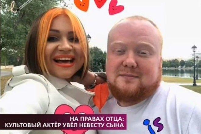 Слишком шикарная 49летний Александр Семчев увел невесту у сына
