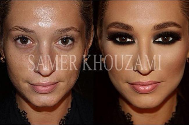 Сногсшибательный макияж и его возможности! Визажист Samer Khouzami