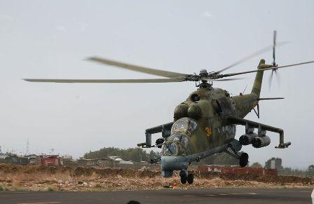 МОРФ: Вертолёт потерпел крушение вСирии из-за технической неисправности