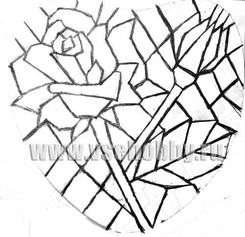Рисунки мозаика своими руками