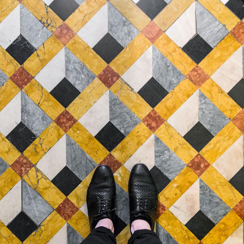 Венецианские полы в фотопроекте Себастьяна Эрраса  венеция, пол, фотопроект
