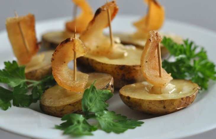 Картошка под парусами))