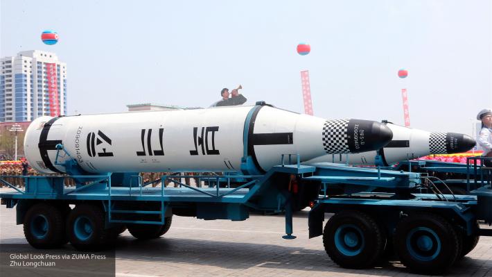 Запуск баллистической ракеты КНДР был вовремя отслежен российскими системами