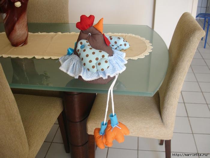 Как сделать игрушку курица
