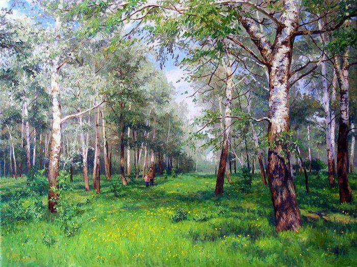 пейзажи художник Кириченко Геннадий- 21