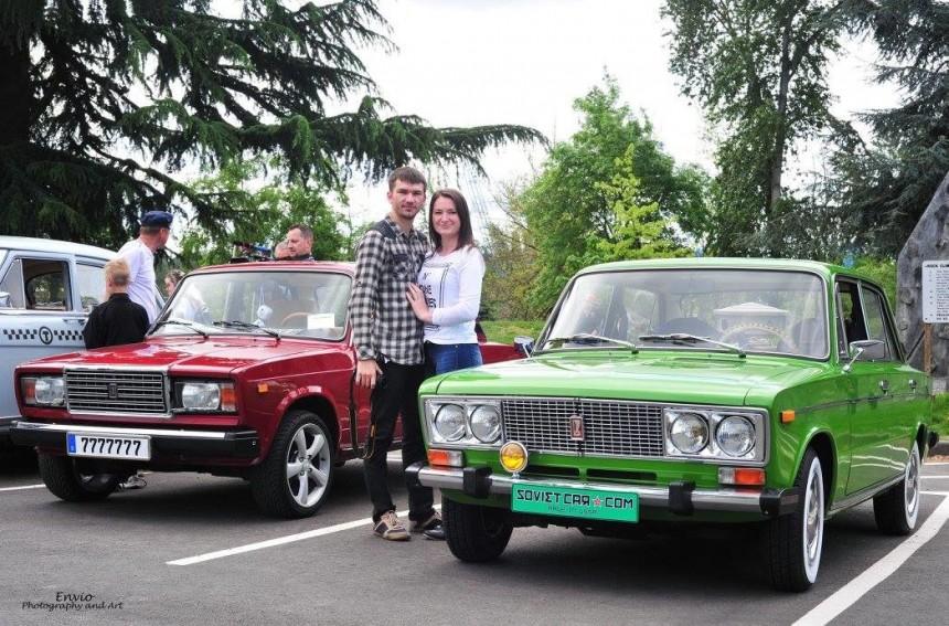 В США прошел слет владельцев советских авто