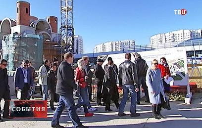 На юго-западе Москвы возводят храм в честь Федора Ушакова