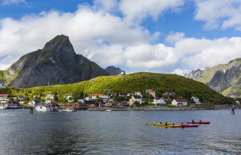 8. Рейне, Норвегия вай фай, интернет, отдых