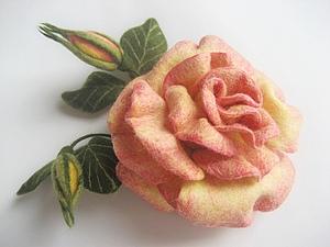 Мастер-класс  Роза | Ярмарка Мастеров - ручная работа, handmade