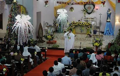 В пятницу католики и протестанты празднуют Рождество Христово