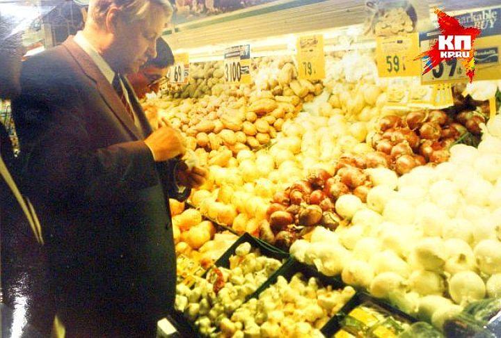Борис Ельцин во время визита в США в 1989-м году. Фото: Ельцин Центр