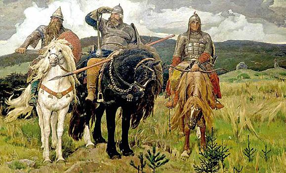 В. Васнецов. «Богатыри». 1898 год