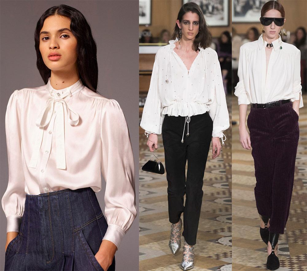 Модные блузки  — последние новинки на 2018-2019 год