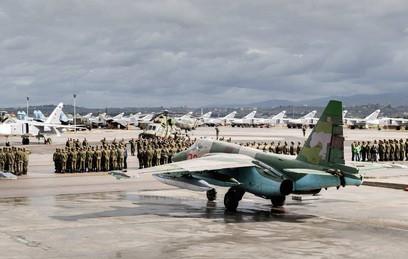Из Сирии в Россию вернулись 27 самолетов и вертолетов