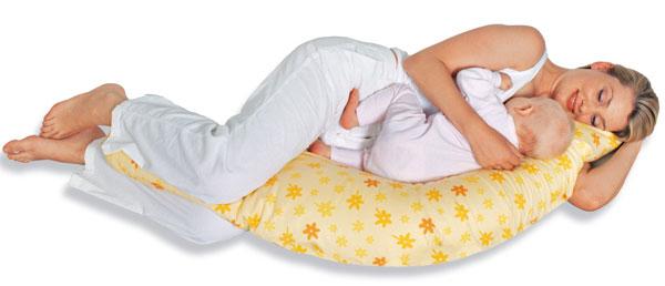Подушки для беременных как лежать