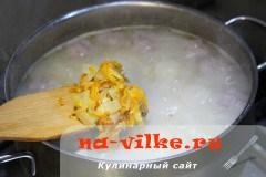 Суп с фрикадельками из фарша для детей