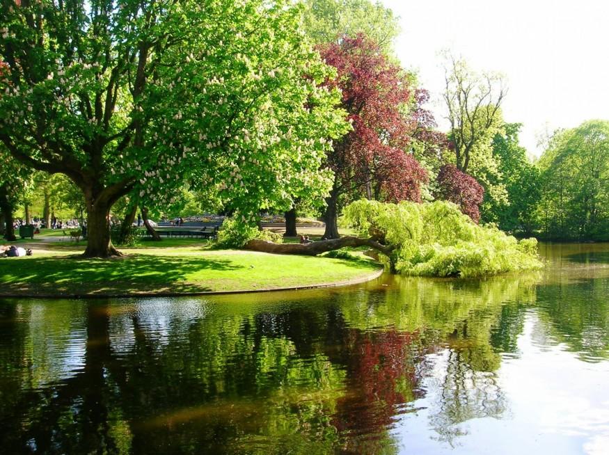Парк Вондела Амстердам - любимое место отдыха амстердамцев