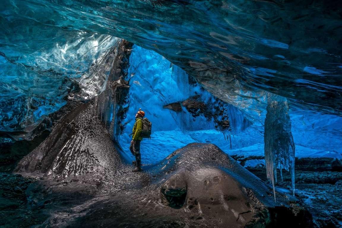 Потусторонняя пещера в леднике Ватнаёкуль-8