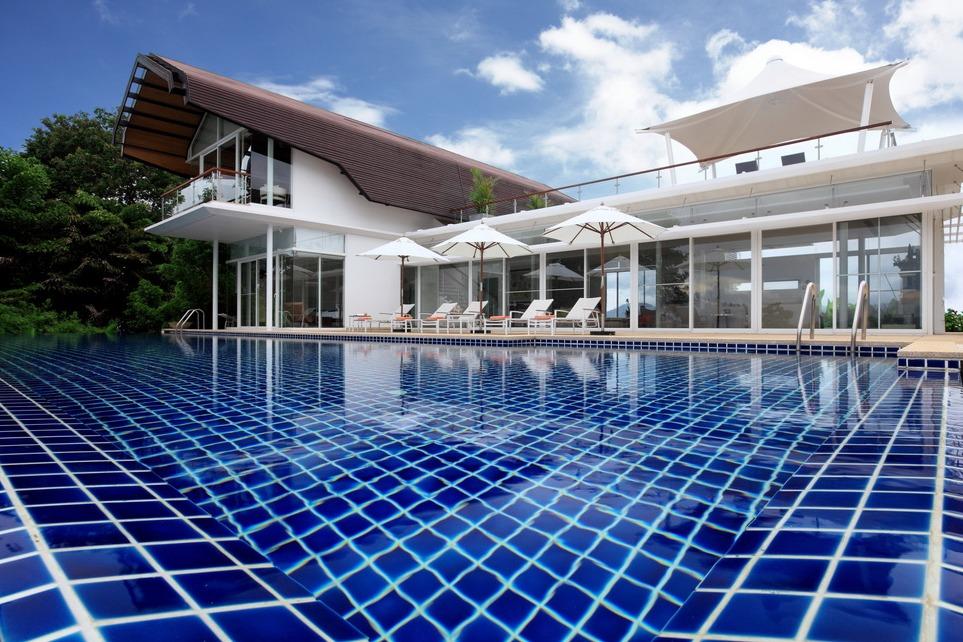 Красивая вилла с бассейном в Тайланде