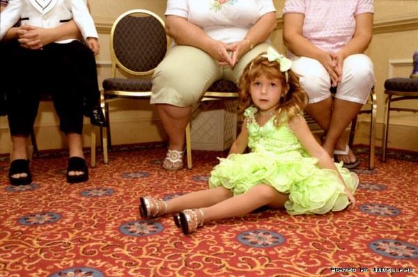 Детские конкурсы красоты в США (28 фото)