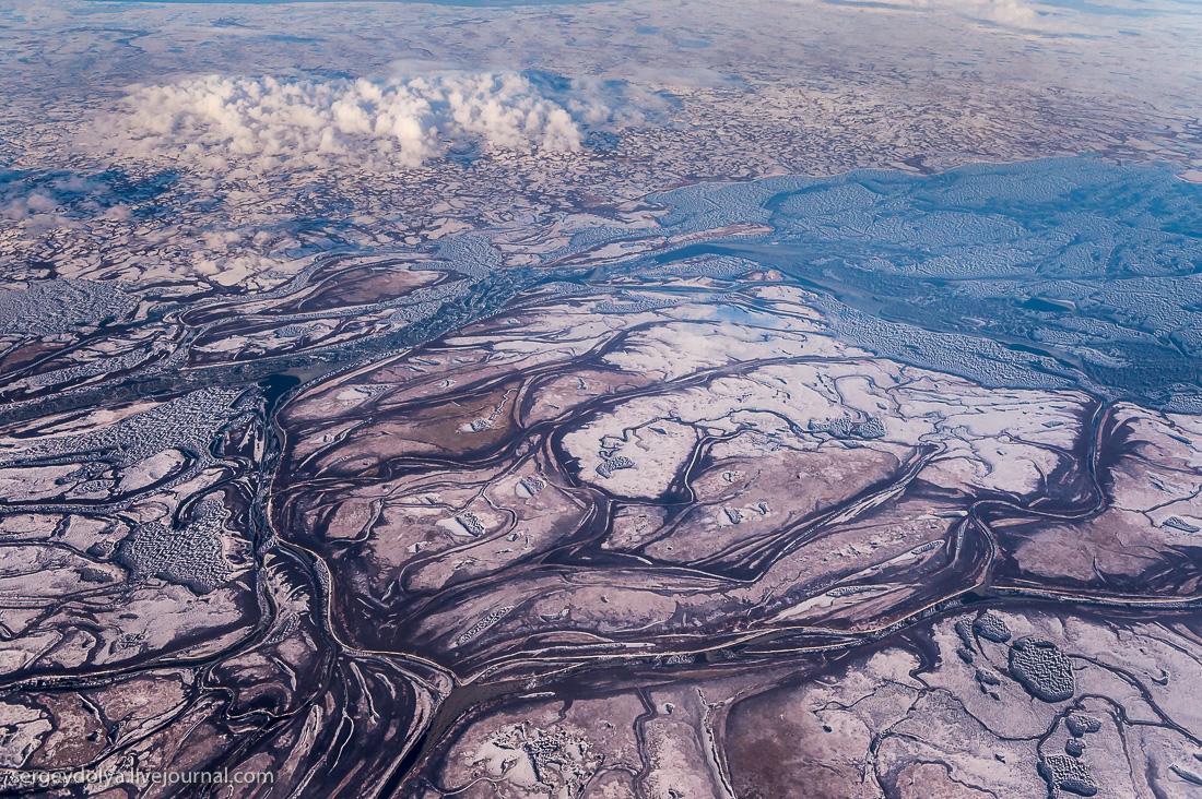 Как выглядит Север России с высоты АН-24