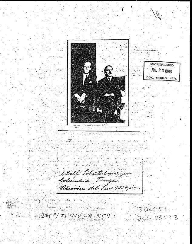 ЦРУ раскрыло секреты - Гитлер жил в Колумбии после 1945 года