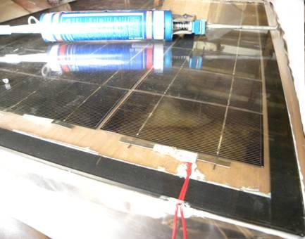 Солнечная батарея из пластикового окна