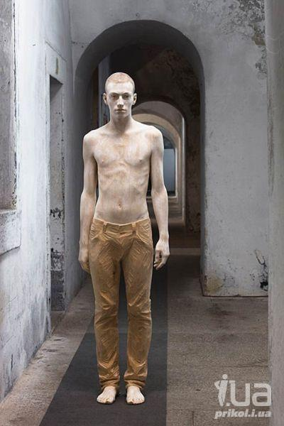 Скульптуры из дерева. Невероятно!