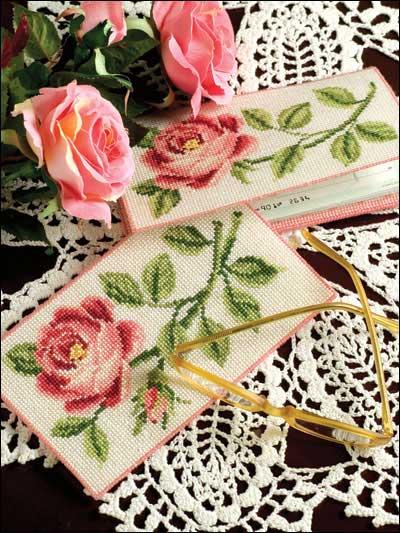 Схемы для вышивки крестом «Роза»