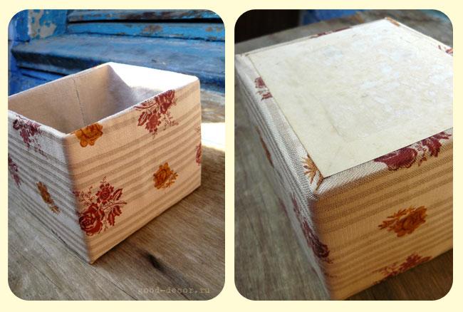 Как обычные коробки сделать красивыми
