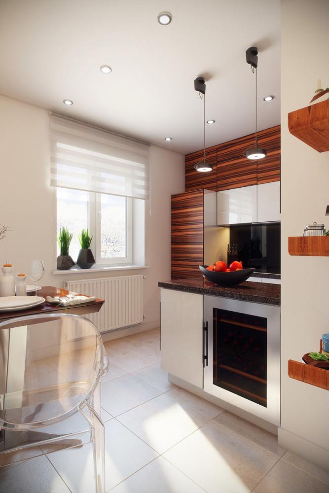 Дизайн однокомнатной квартиры 36 кв.м