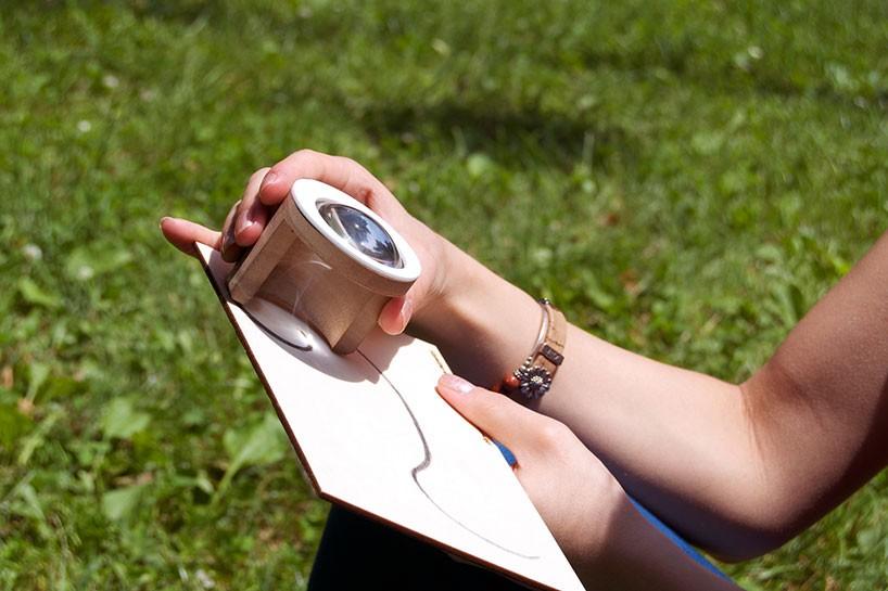 Рисование с помощью солнца