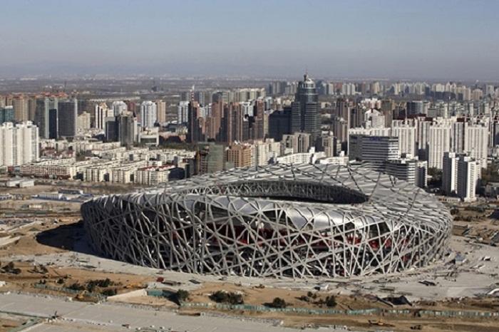 Центральный стадион «Птичье гнездо», становится менее востребованным и популярным (Пекин).