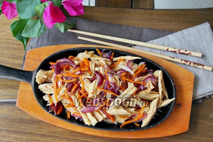 Салат из спаржи соевой рецепты с