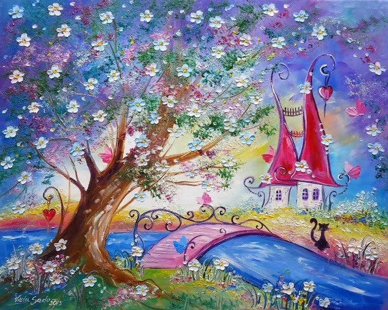 рисунок картинки сказочный лес