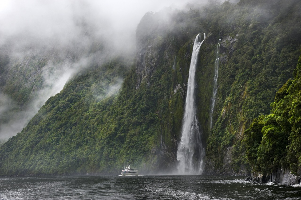 Milford Sound, New Zealand, South Island, Fiordland National Park
