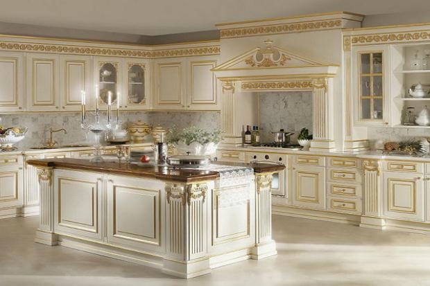 Кухня в стиле барокко: фото и советы для создания роскошных интерьеров