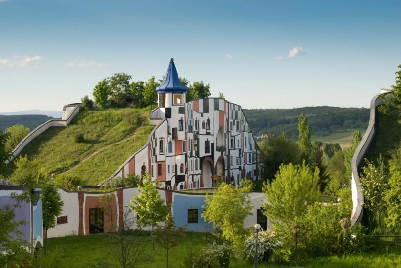 Отель Rogner Bad Blumau, Штирия, Австрия
